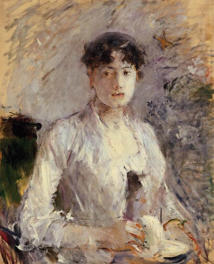 """""""Mladá žena v Mauve"""" od Berthe Morisot"""